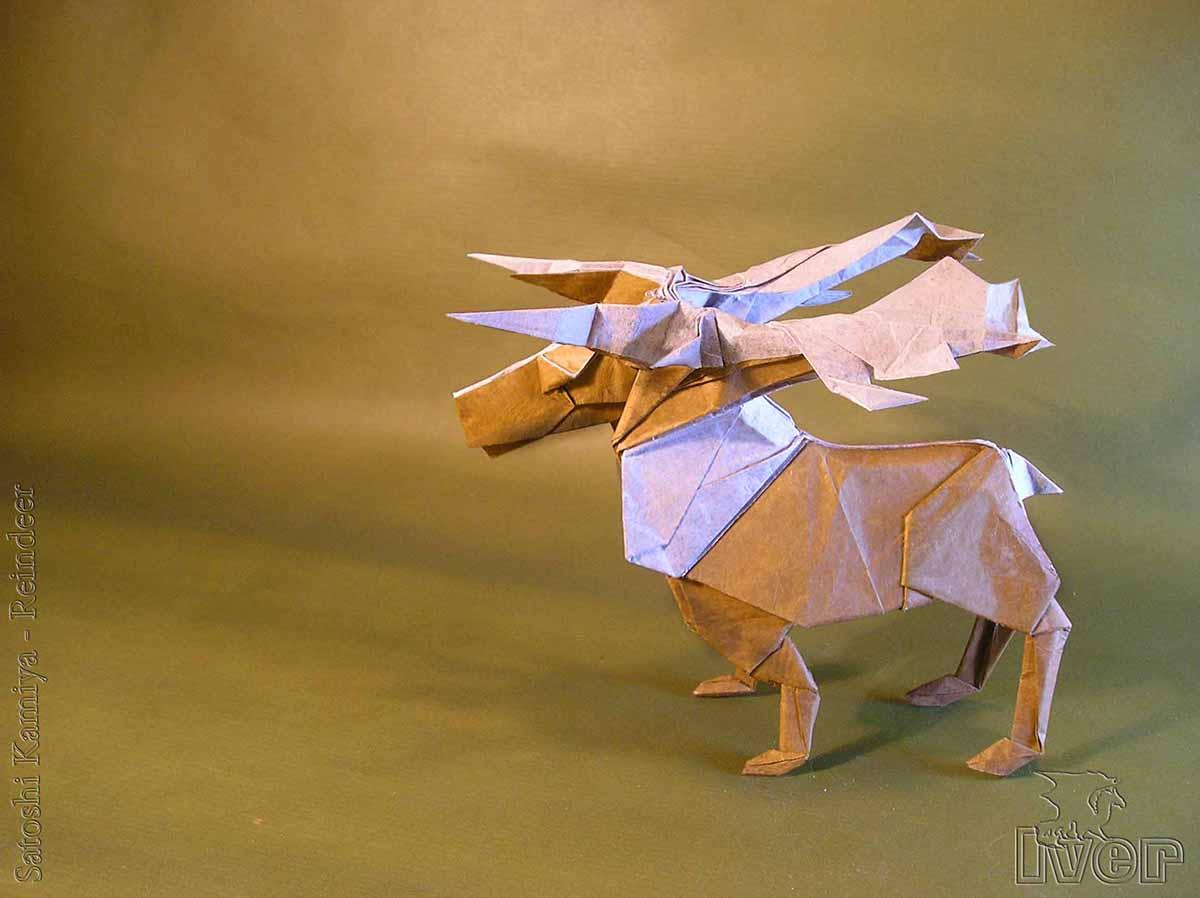 Reindeer by Satoshi Kamiya