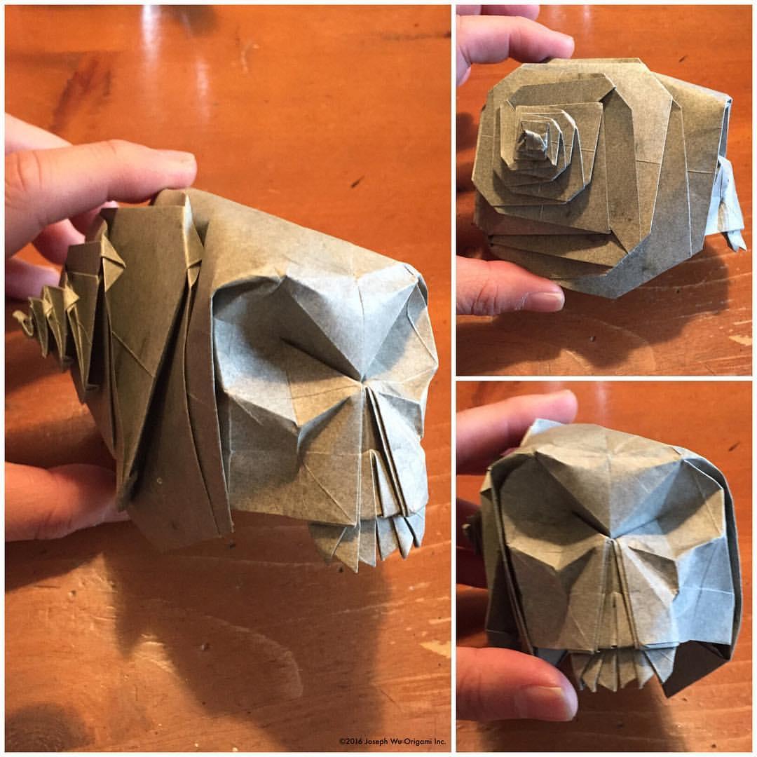 Snail Skull by Joseph Wu
