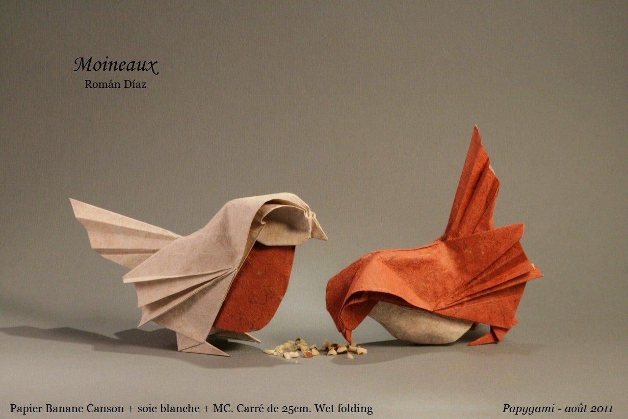 Paper Sparrow by Roman Diaz