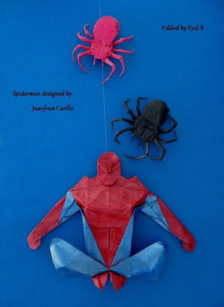 Spiderman Folded by Eyal R.