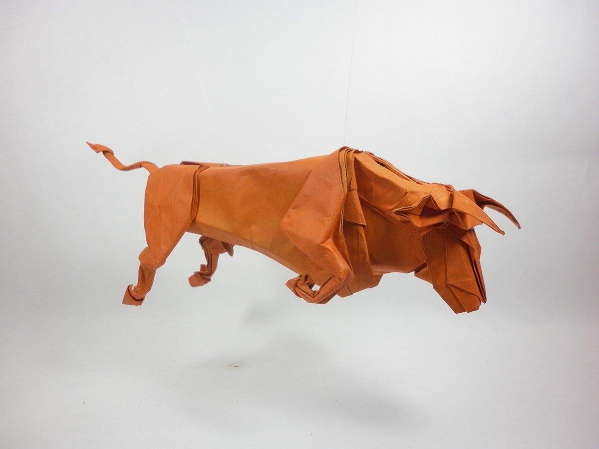 Papercraft Bull (Taurus)
