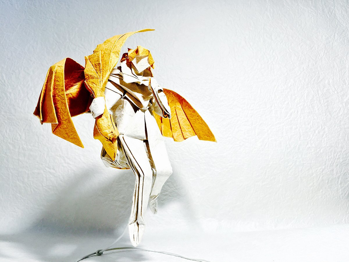 Papercraft Virgo