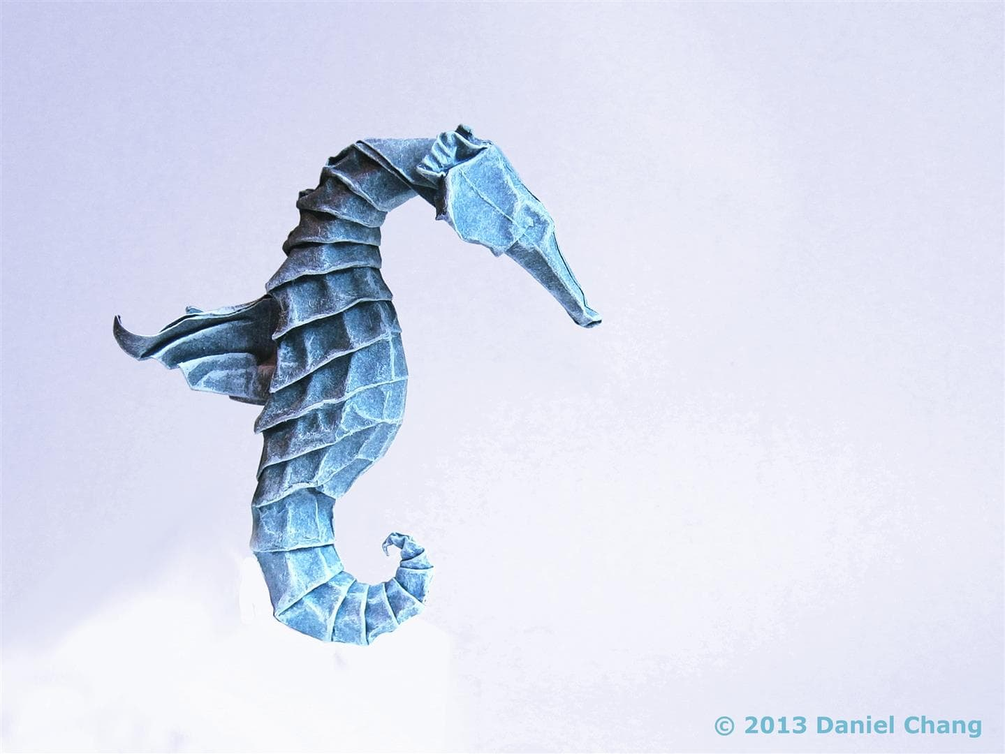 Winged Seahorse by Daniel Chang