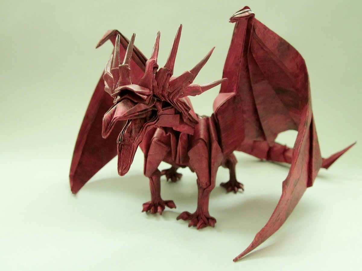 Origami ancient dragon Instructions Pdf - photo#33