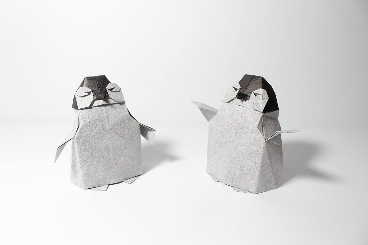 Baby Penguins by Yoo Tae Yong