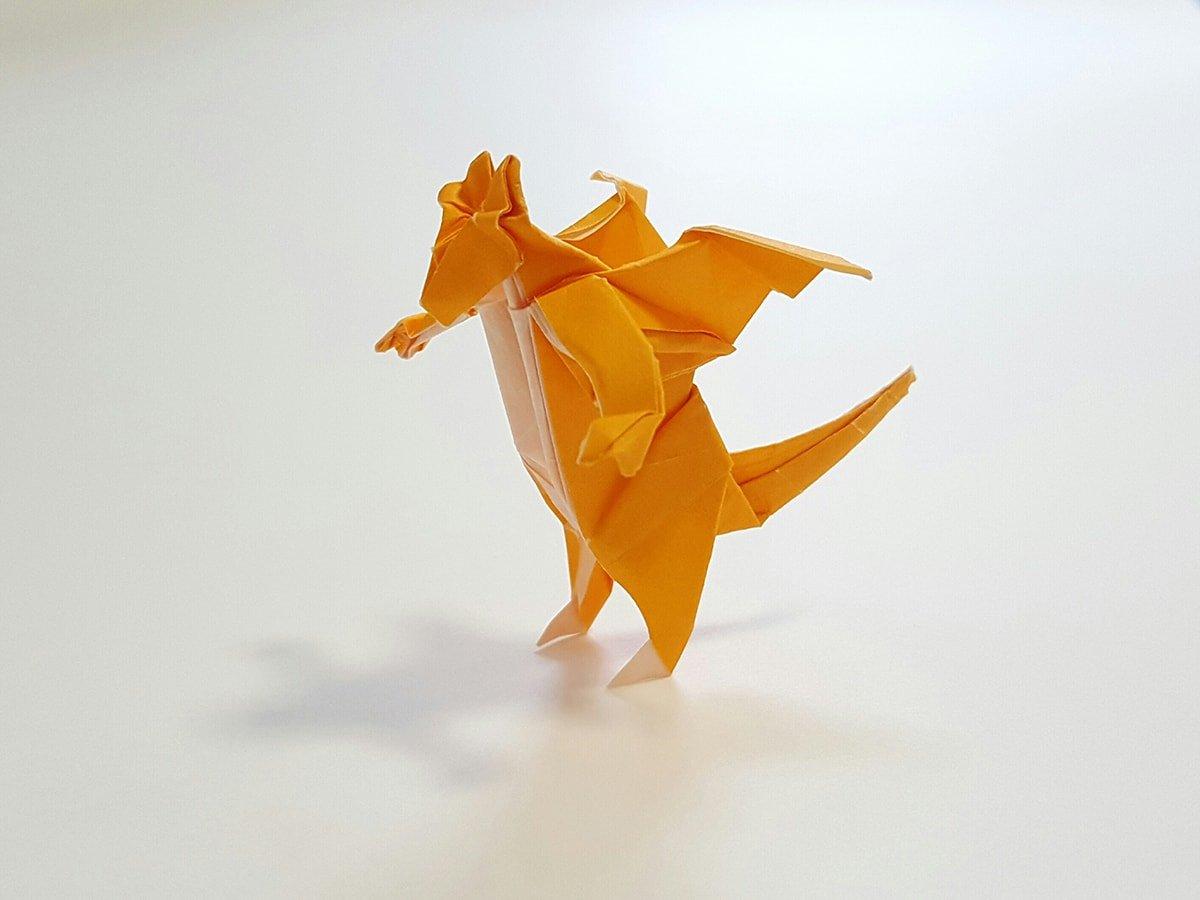 Paper Dragonite