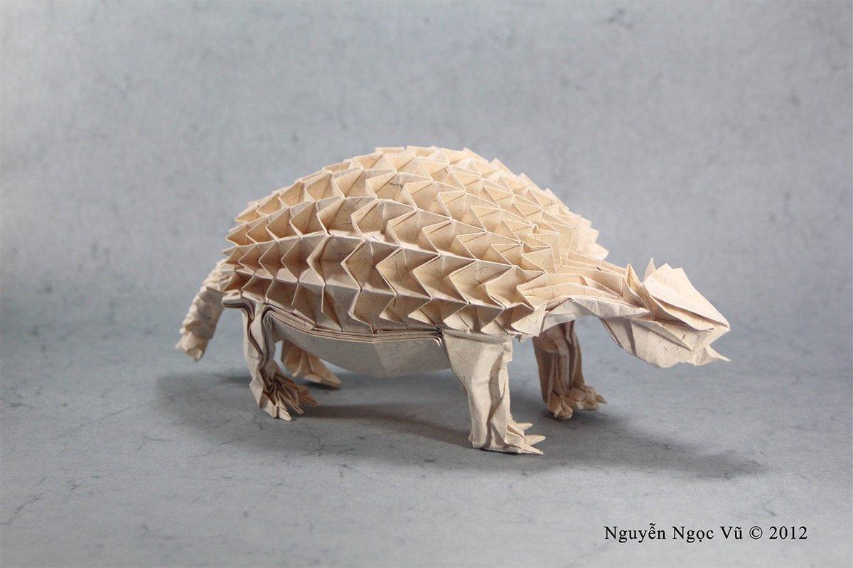 20 Fantastic Non-Dinosaur Prehistoric Origami Creatures - photo#40