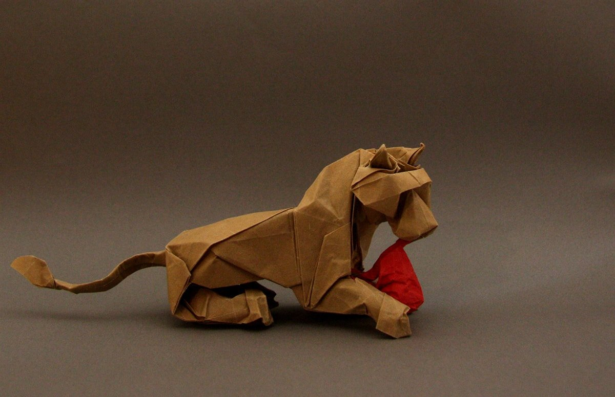 Lion Designed by Terry Nicolas