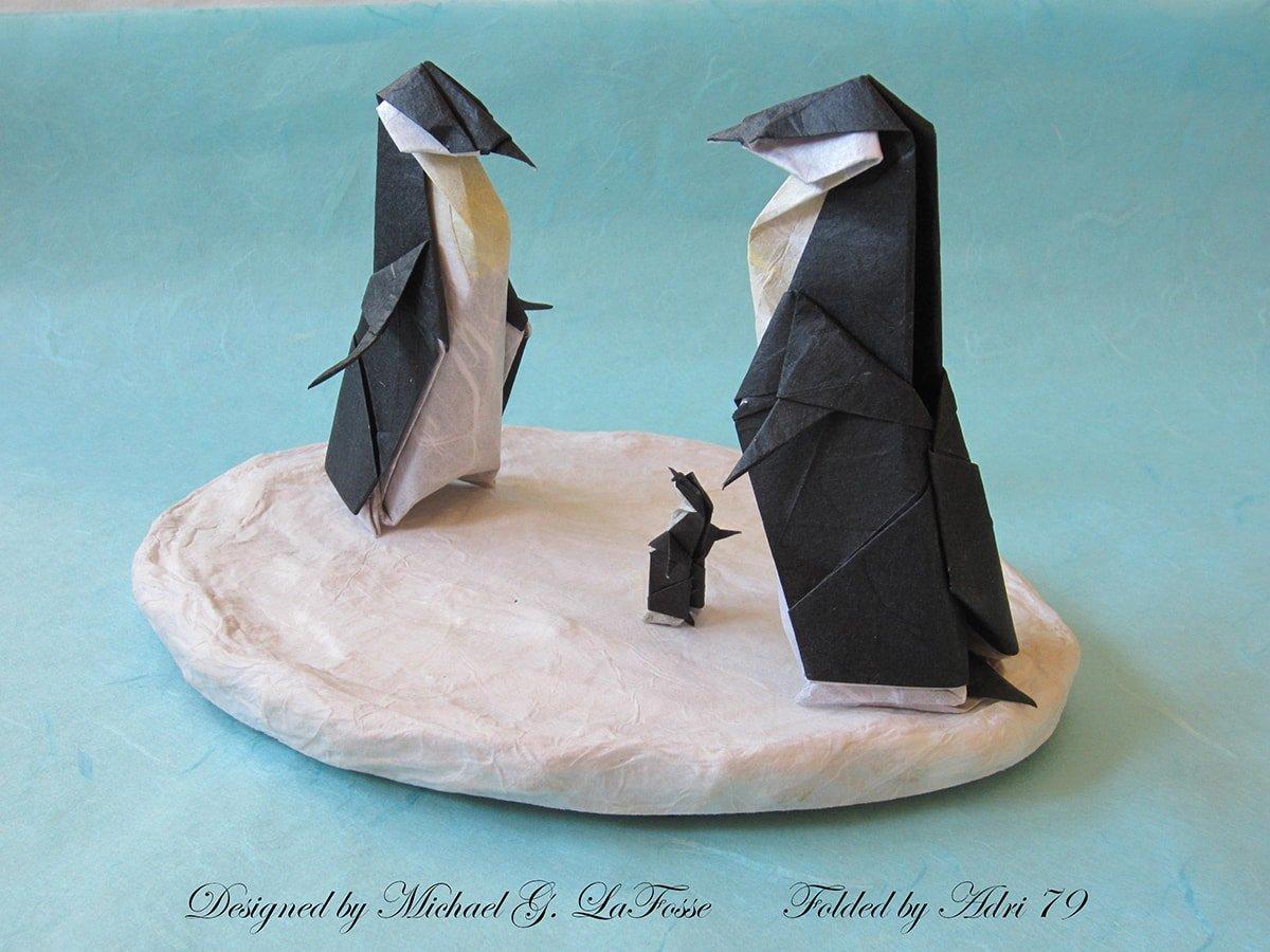 Penguins Designed by Michael G. Lafosse