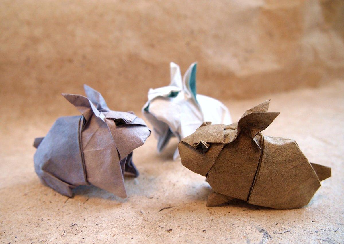 Rabbits by Hiroaki Kobayashi