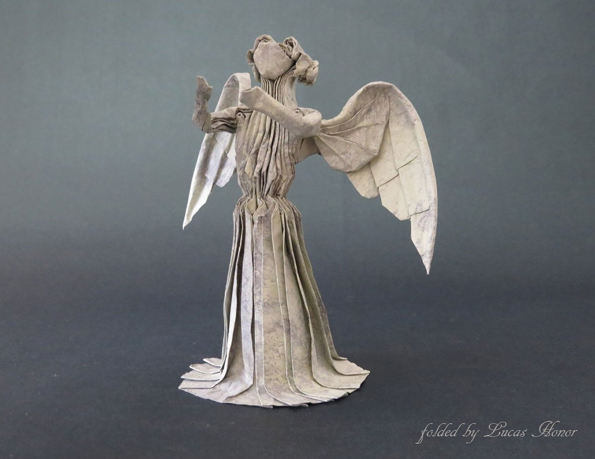 Weeping Angel folded by Lucas Honor