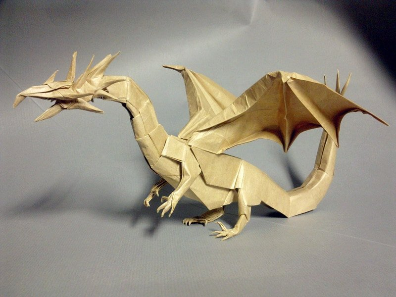 Paper Western Dragon