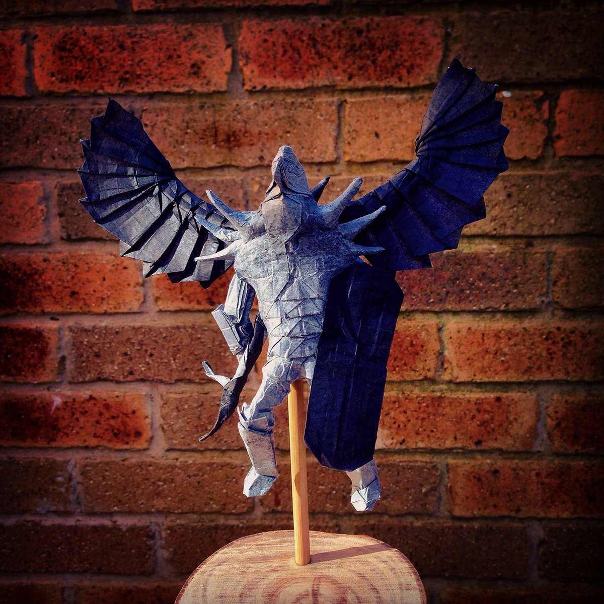 Winged Warrior Papercraft