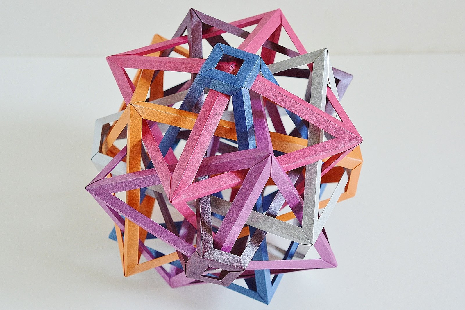 The Amazing Craziness Of Byriah Lopers Geometric Origami
