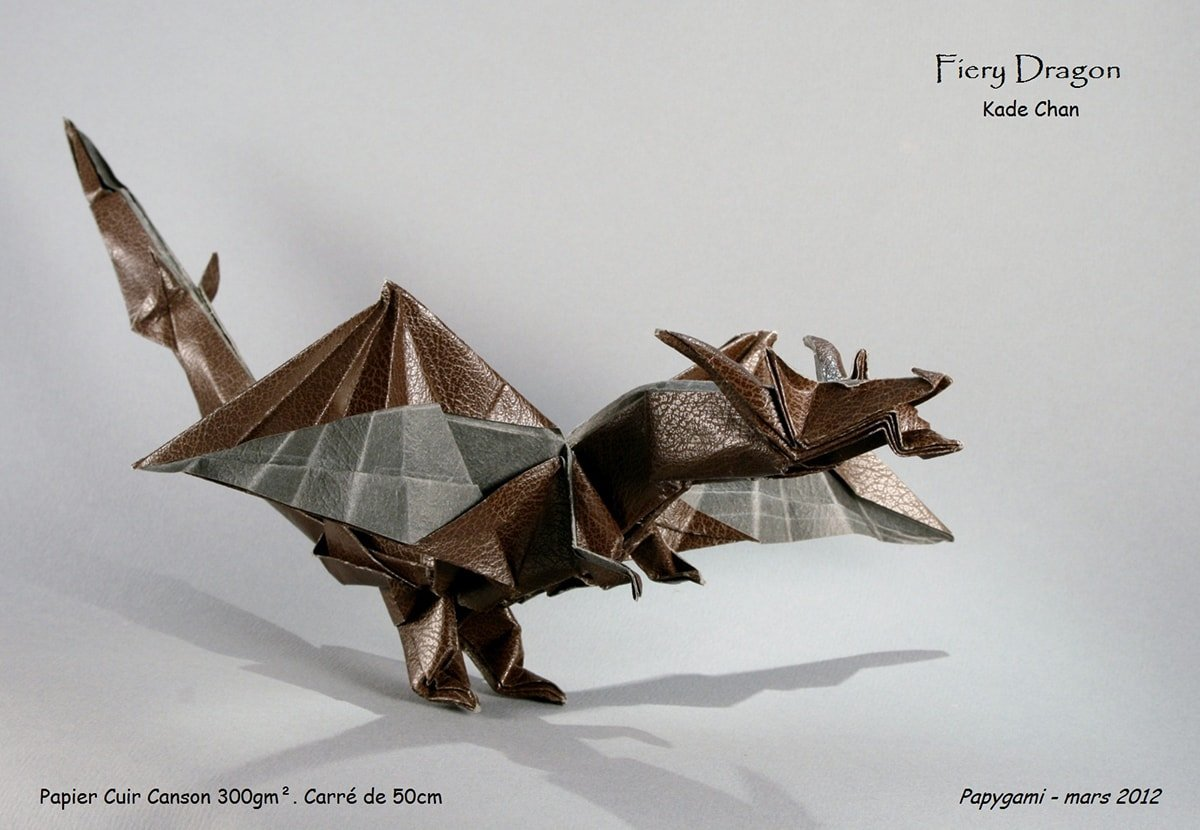 How to fold the Origami Fiery Dragon - Origami Kids - Medium | 830x1200