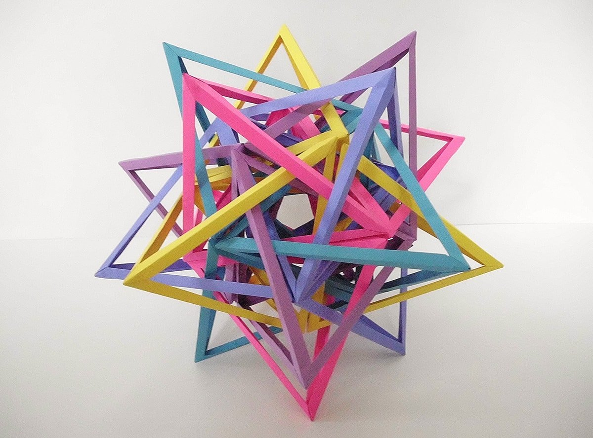 """K7"" Twenty Interlocking Snub Digonal Dihedra (Byriah Loper)"