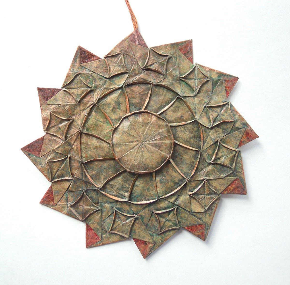 Origami Samsara Wheel