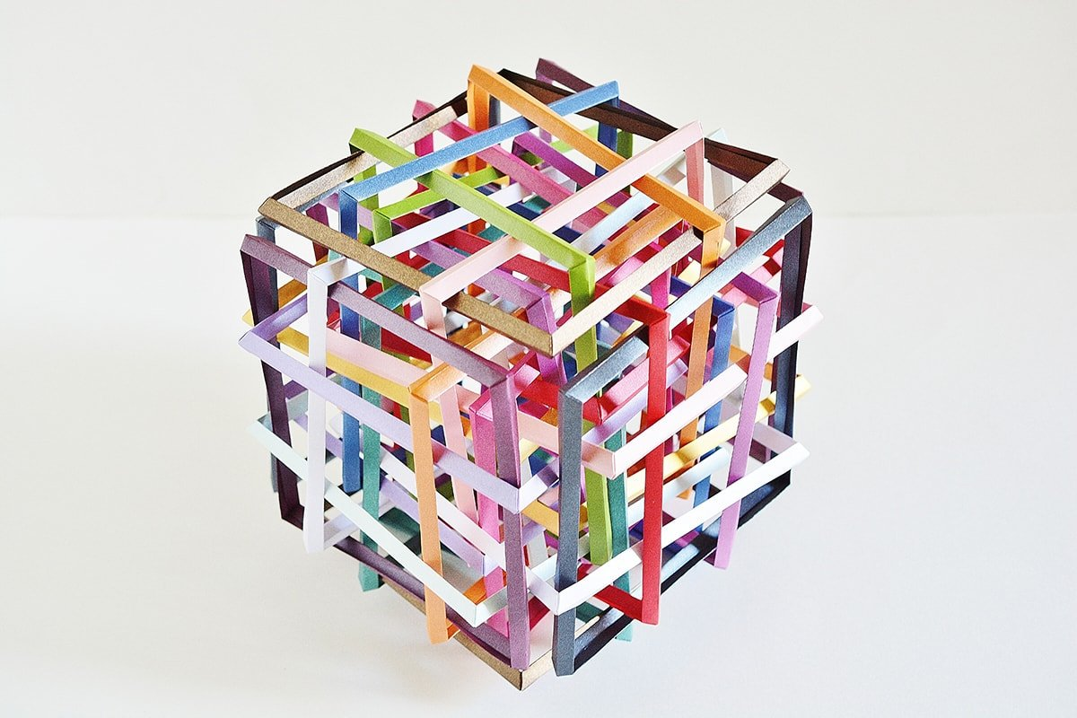 Thirty Interlocking Squares (Byriah Loper)
