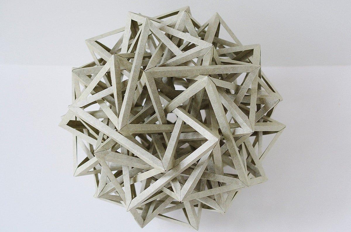 Ten Interlocking Irregular Hyperboloidal Triaugmented Omnitruncated Digonal Dihedra (Byriah Loper)