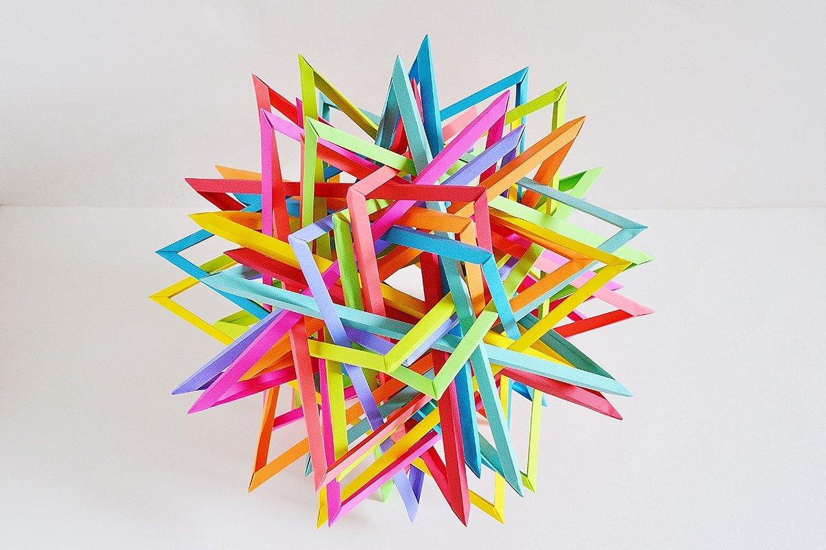 Thirty Interlocking Triangles (Byriah Loper)