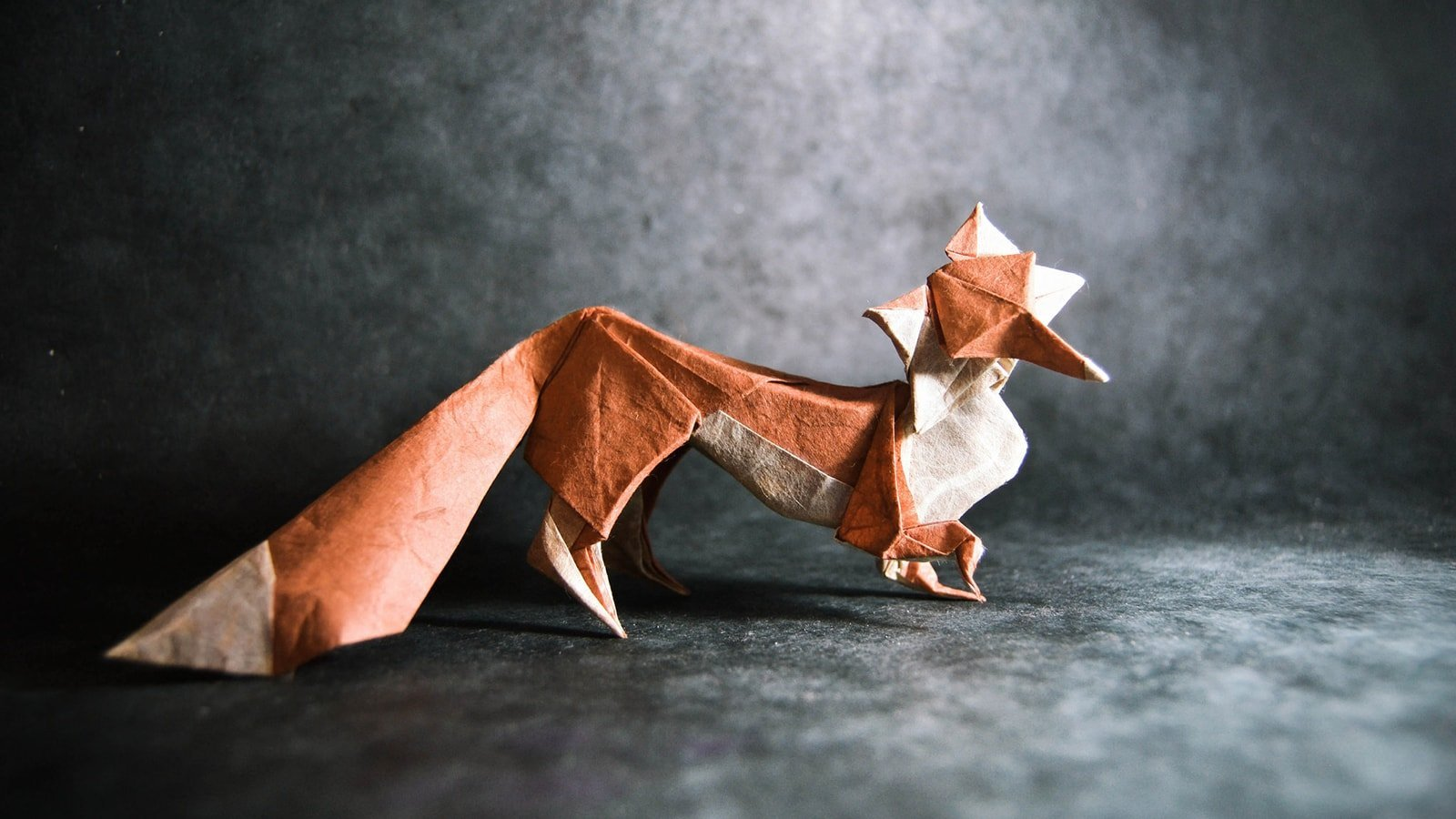 How To Make An Origami Fox Puppet - Folding Instructions - Origami ... | 900x1600