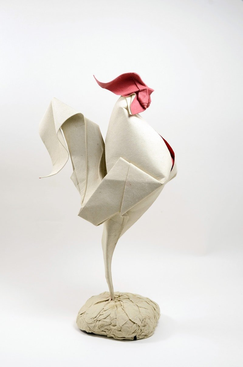 Origami Rooster