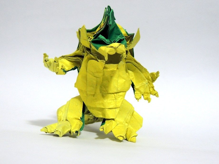Origami Bowser