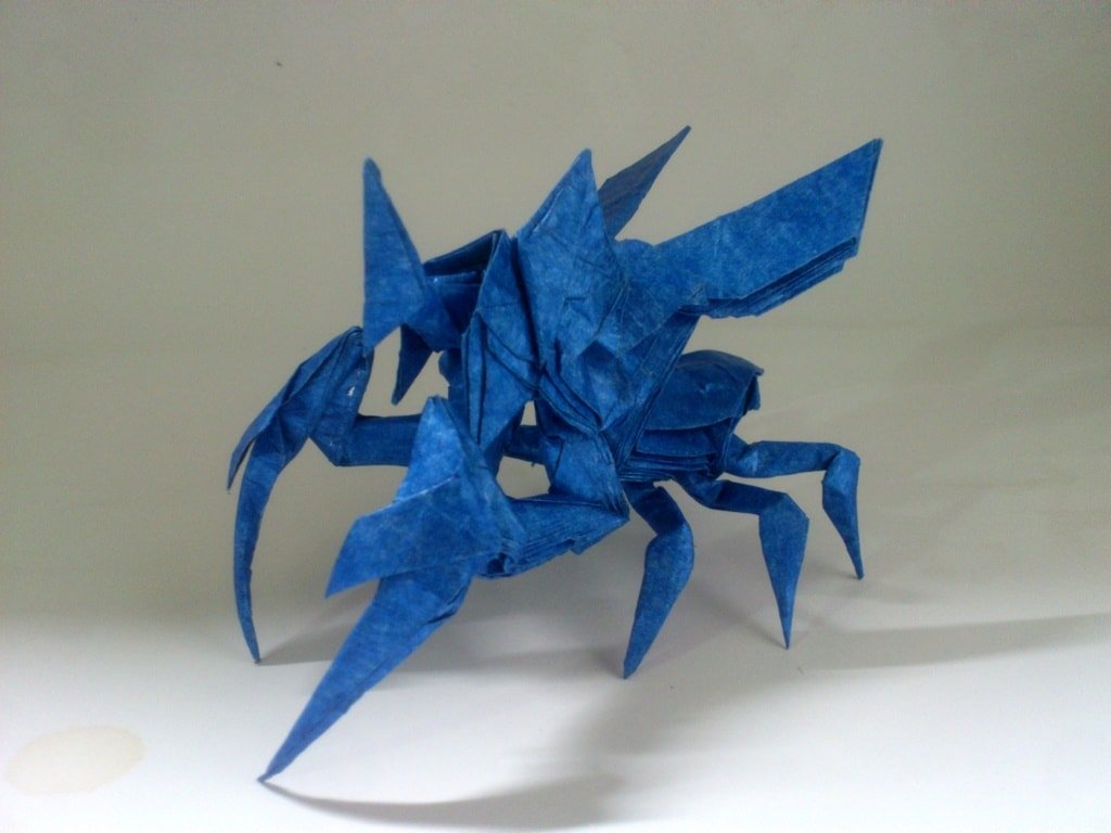 Take a Break from Your Quests to Check Out this Monster Hunter Origami | 768x1024