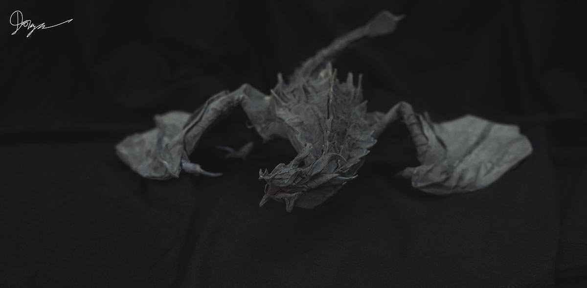 Origami Paarthurnax