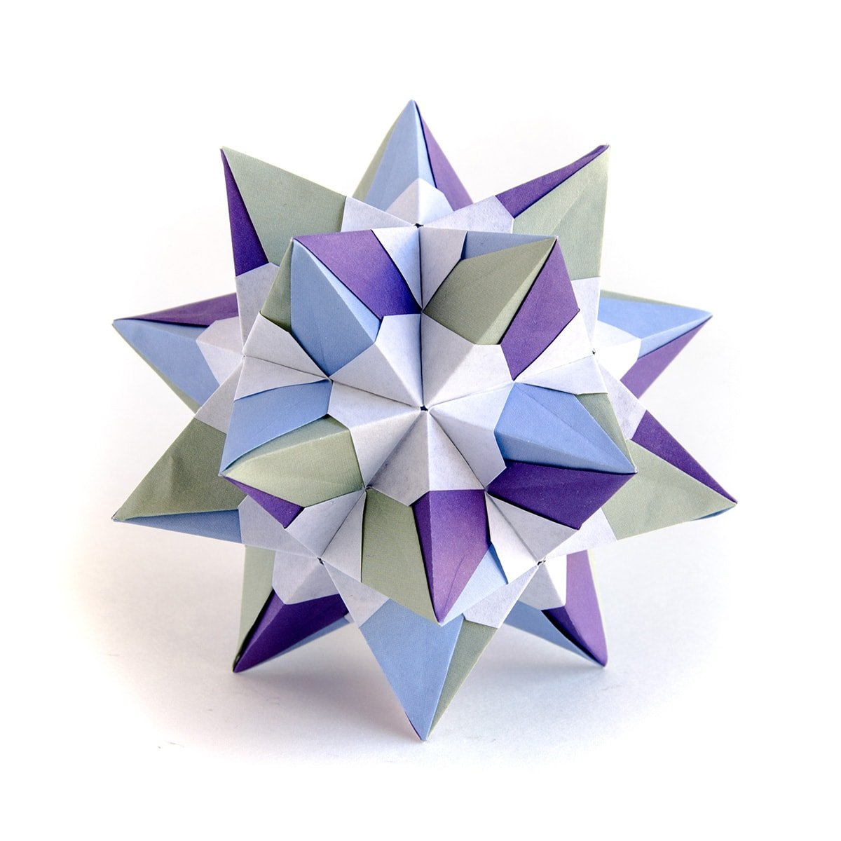 Star Sonobe by Maria Sinayskaya — Instructions | Go Origami | 1200x1200