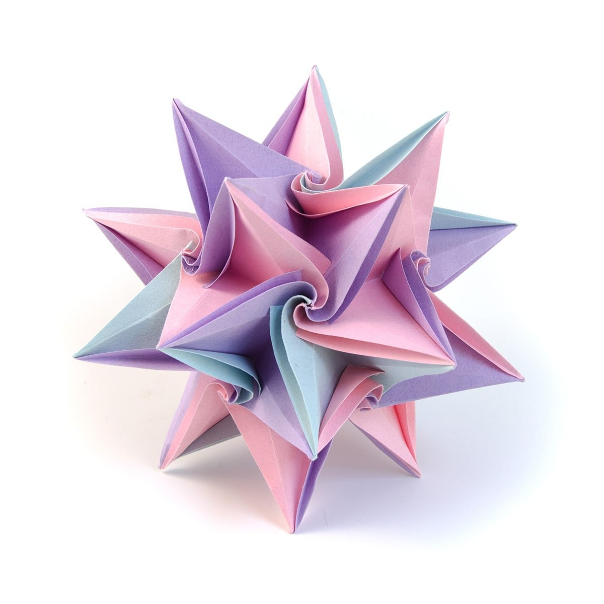 How to Make the Origami Kusudama Diamond Flower « Origami ... | 1200x1200
