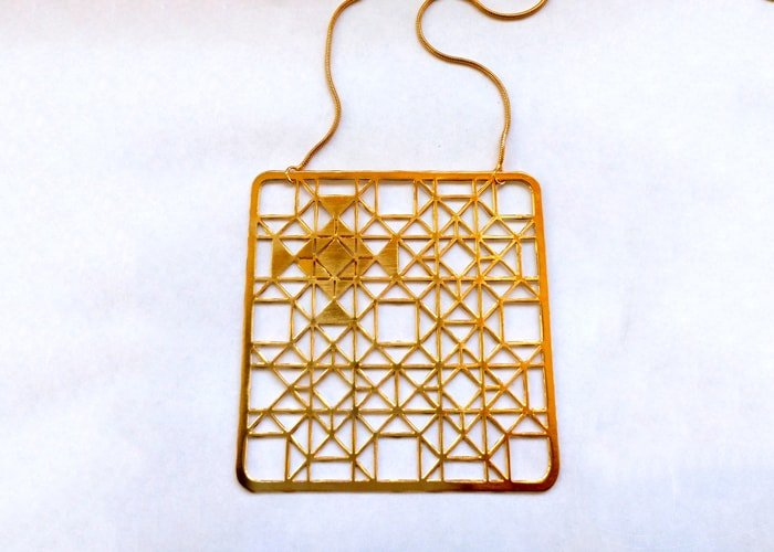 Grid Necklace 2