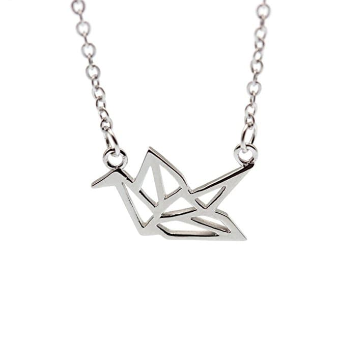 Hanfly Crane Necklace