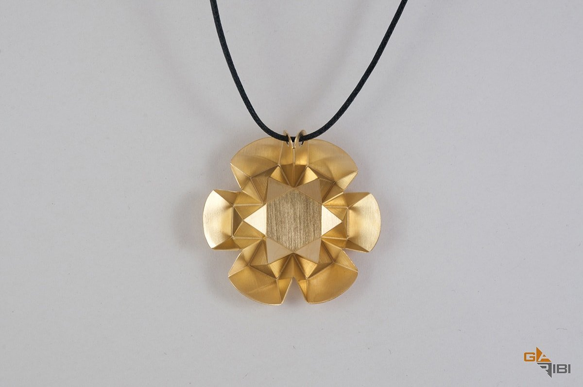 Hexaflower Necklace