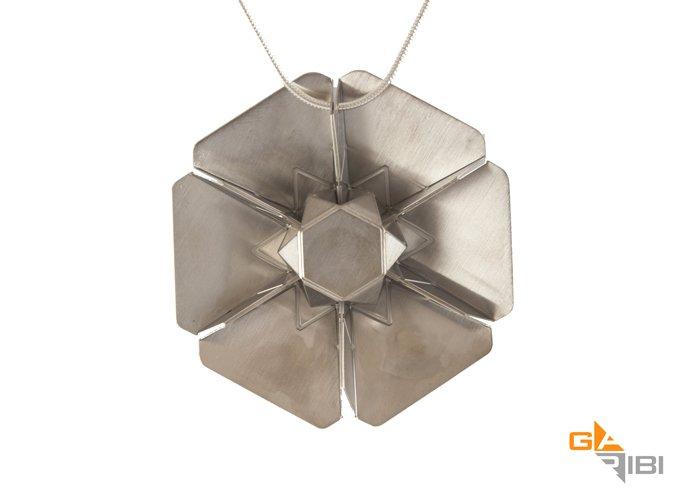 Hexagon Tessellation Pendant