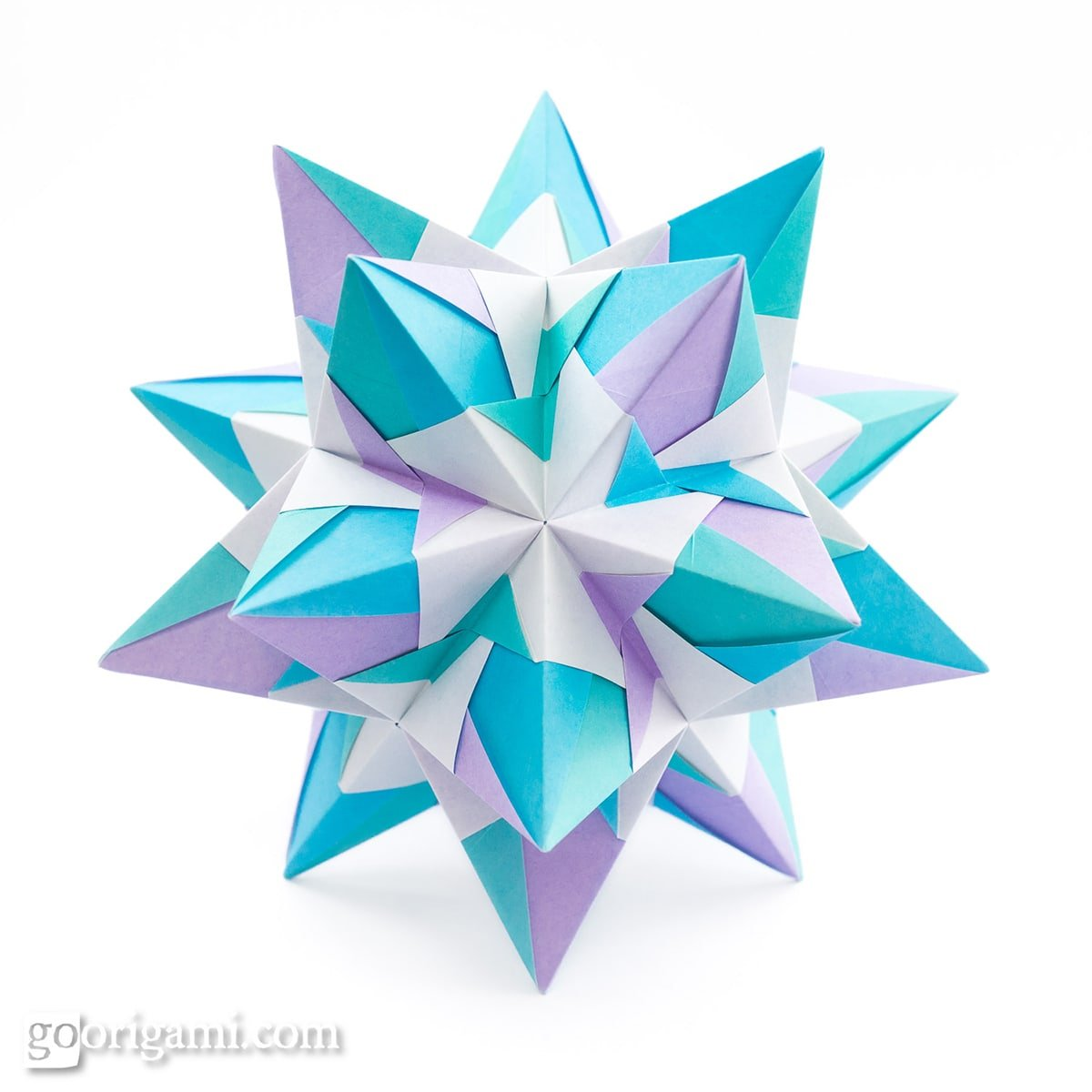 30 Absolutely Beautiful Origami Kusudamas | 1200x1200