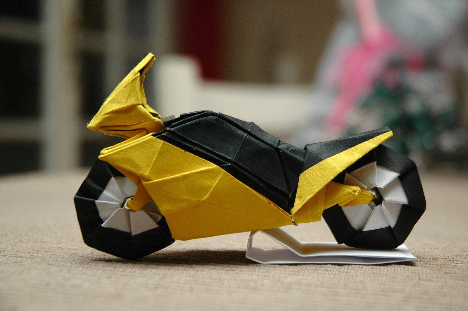 I Could Harley Wait To Show You These Origami Vehicles