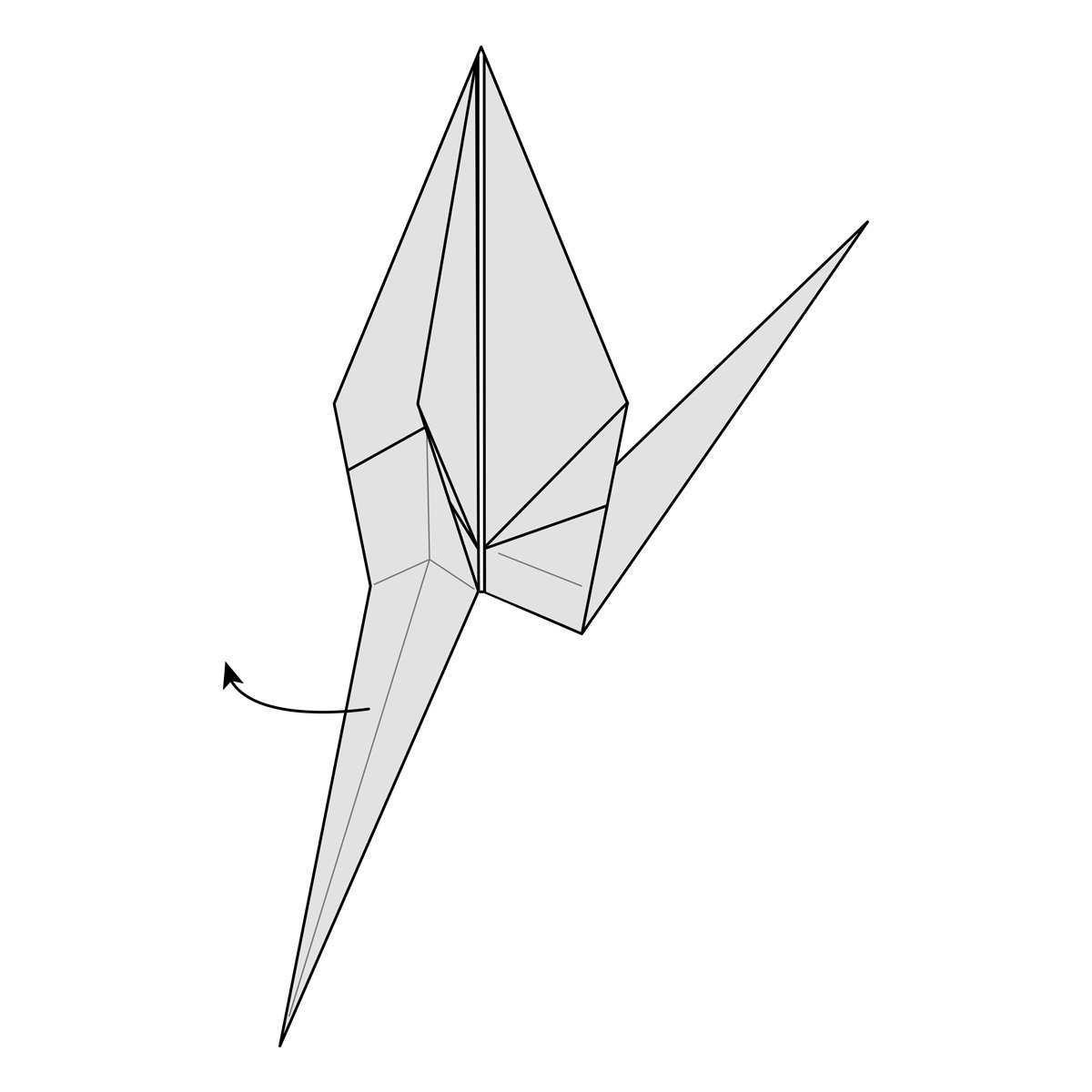 How to Fold a Paper Crane (with Pictures) - wikiHow | 1200x1200