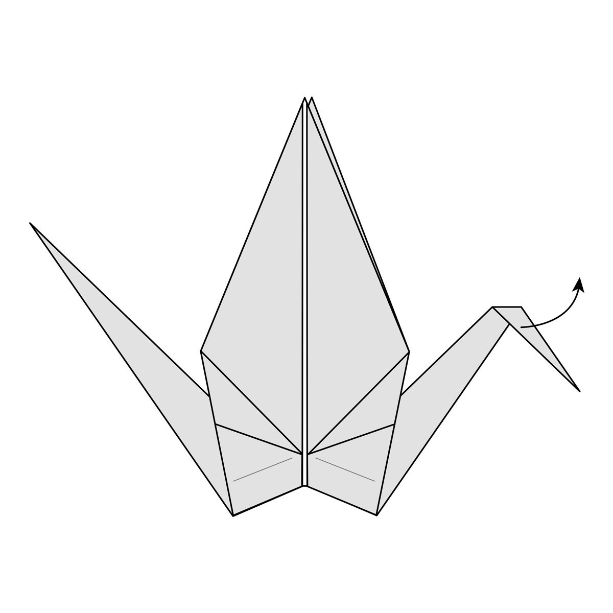 iRandomness: Origami Crane Instructions - My Features Article | 1200x1200