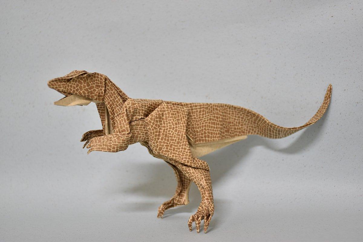 Origami Dinosaur