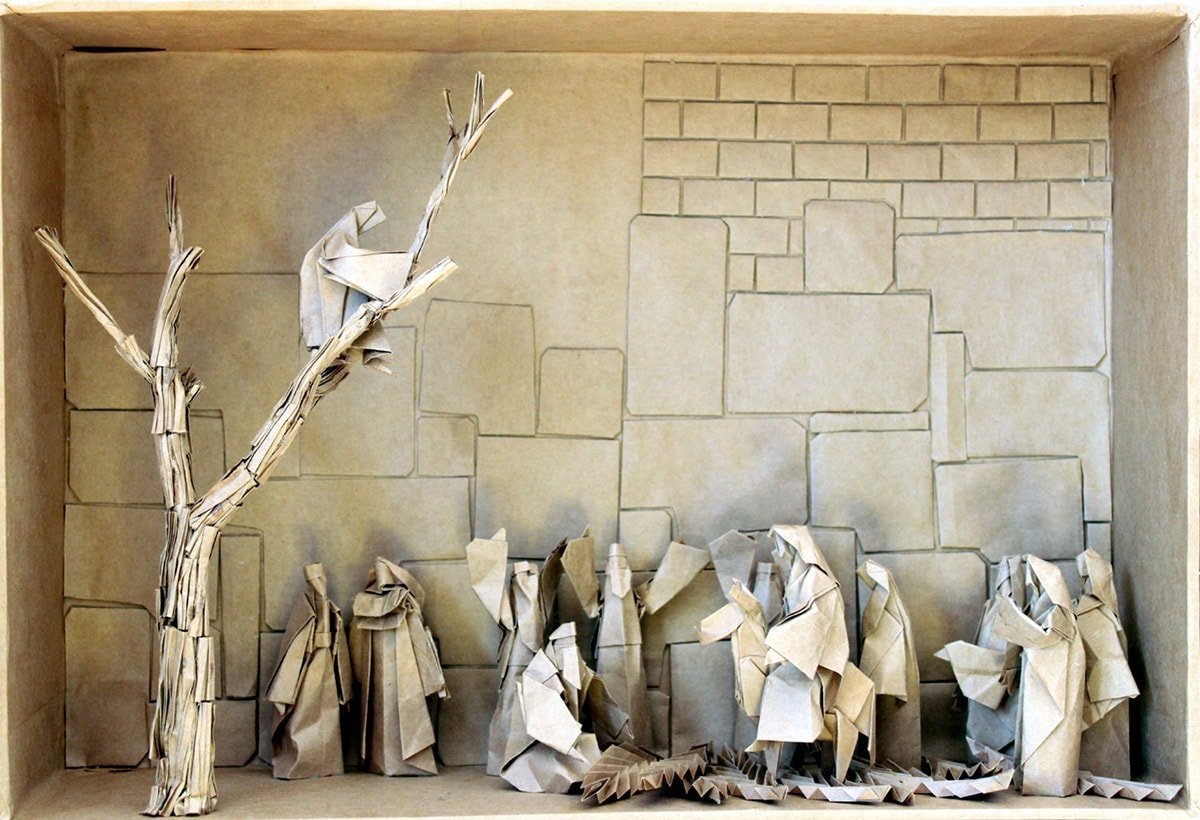 Palm Sunday Papercraft