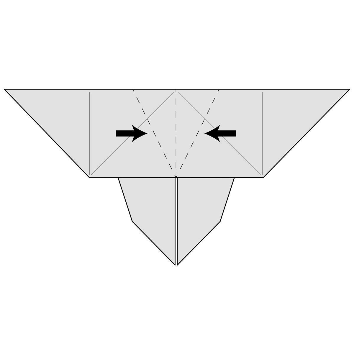 Bug Origami: Butterfly | Origami butterfly, Origami butterfly ... | 1200x1200
