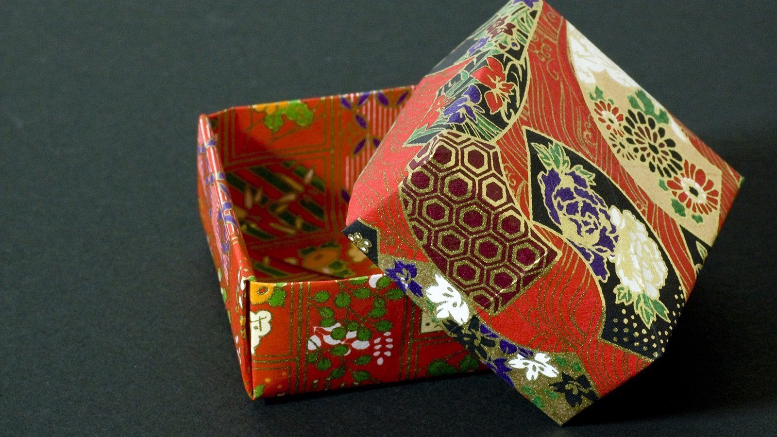 DIY Origami Box with a Printable | Origami box, Paper box diy ... | 900x1600