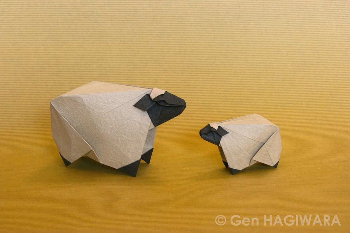 Gen Hagiwara's Sheep