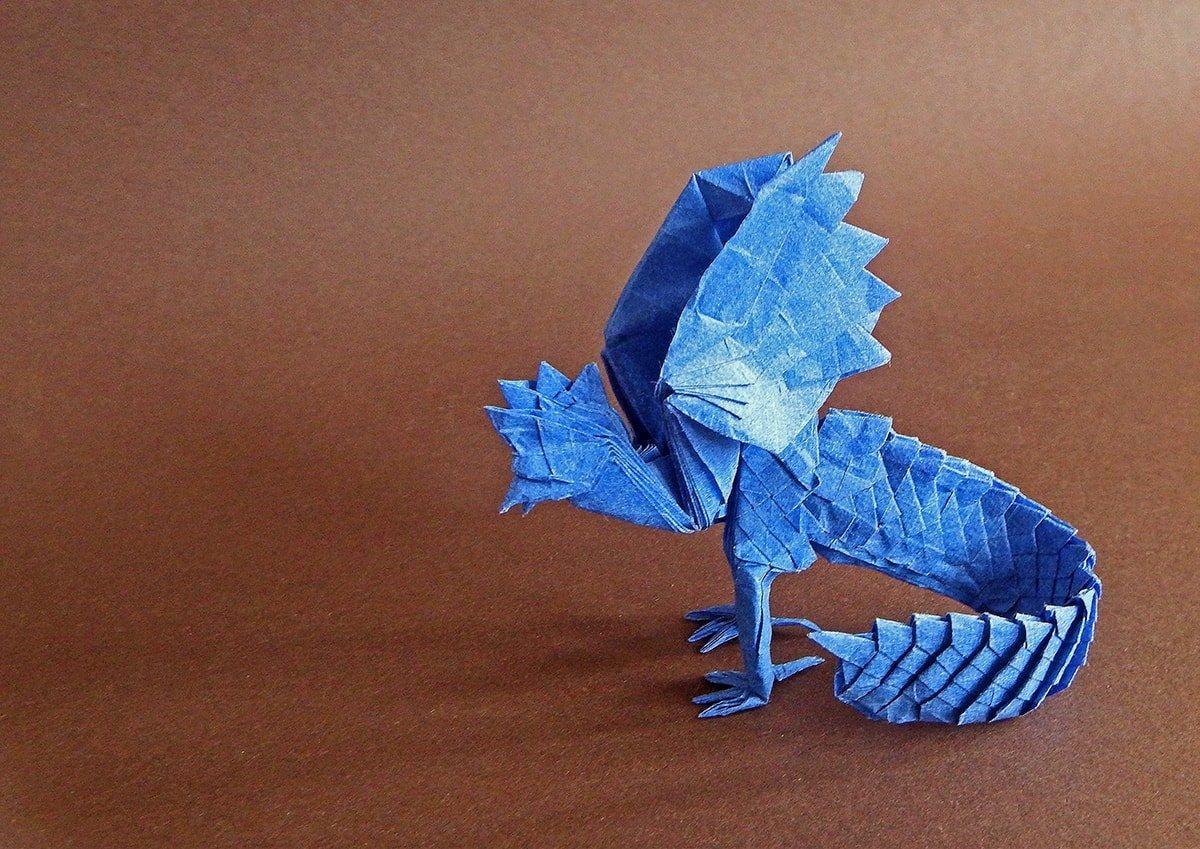 Papercraft Basilisk