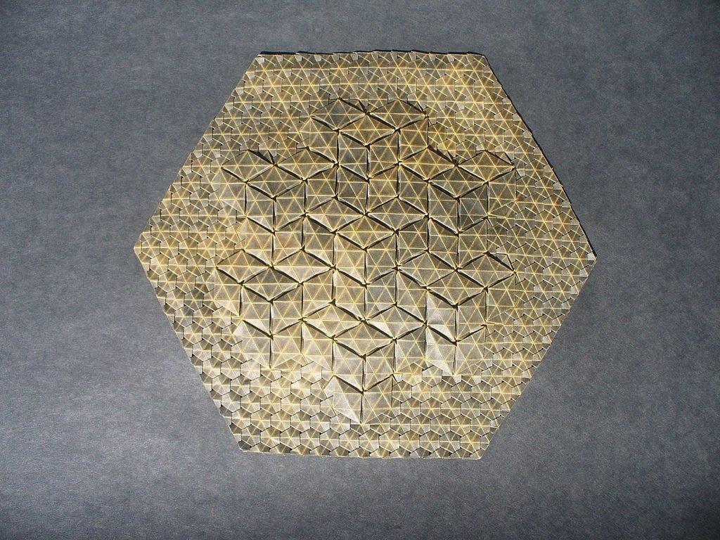 3D Cubes Tessellation