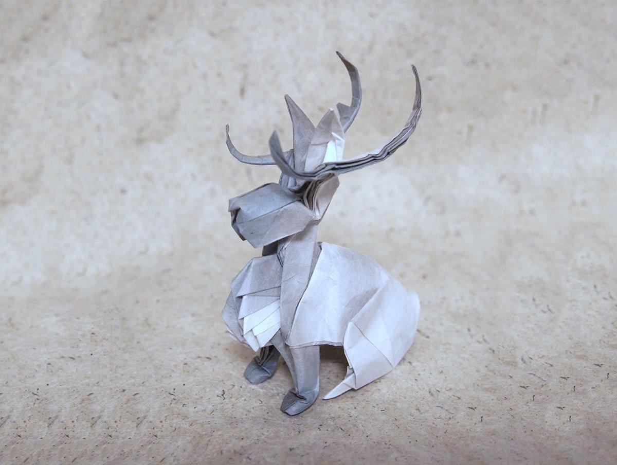 Jackalope Folded by Hiroaki Kobayashi