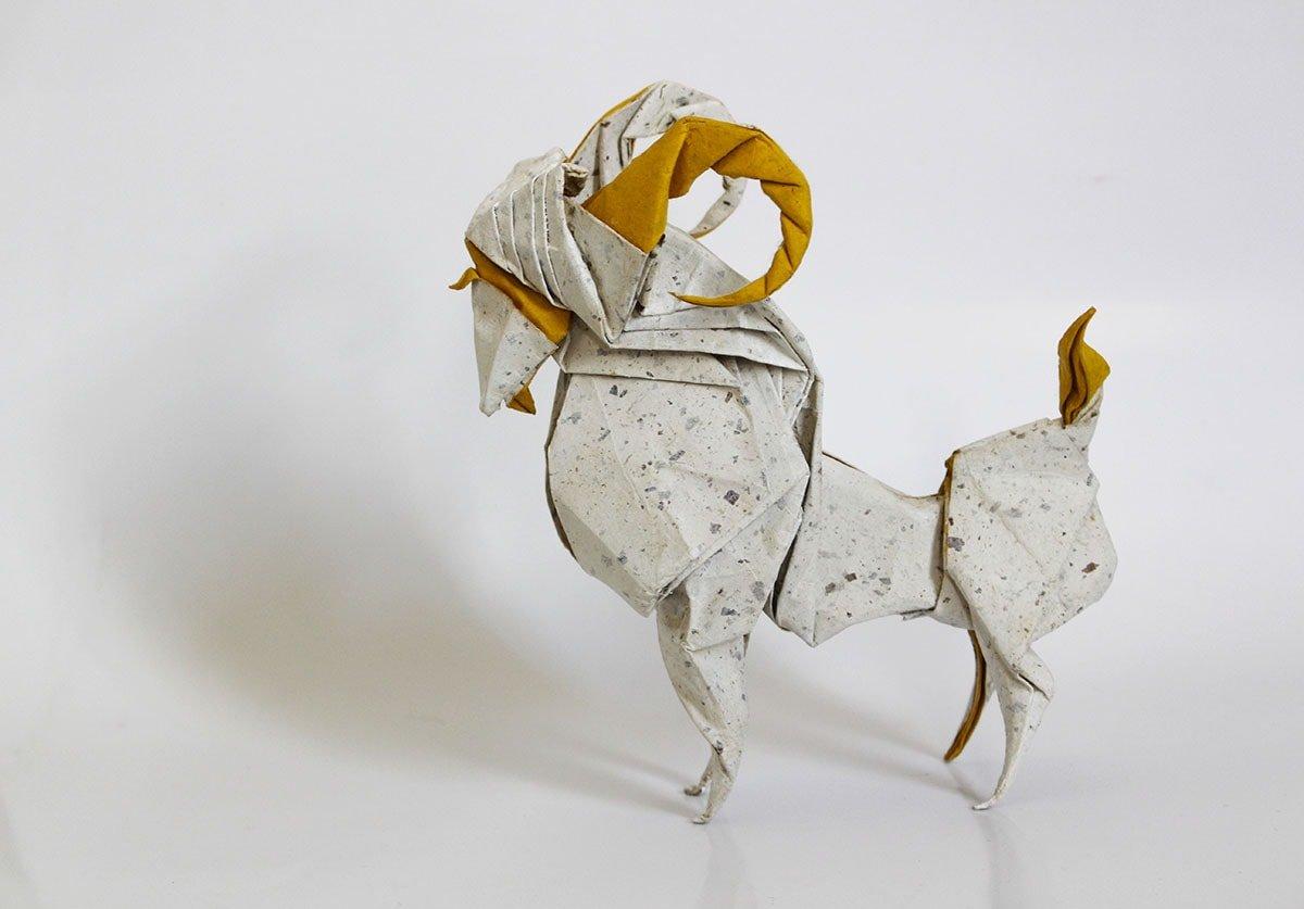 Origami Goat
