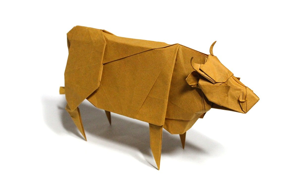 Paper Cattle by J.W. Park