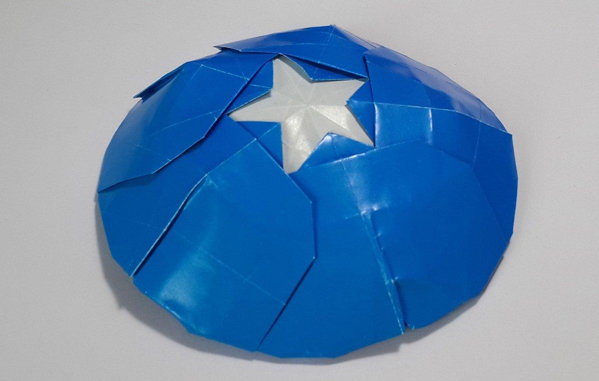 Captain America's Shield by Henry Pham